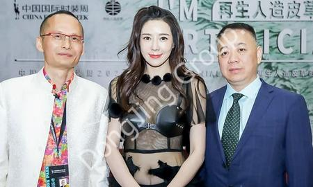 Dongjing Recycled Artificial Fur and GENIAL·Jin Jinhao Appeared at China International Fashion Week